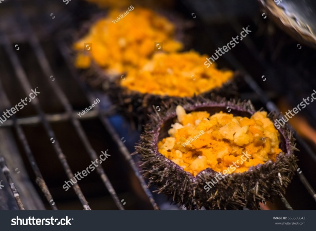 stock-photo-grilling-and-burn-sea-urchin-on-flaming-fire-at-hokkaido-morning-market-freash-and-delicious-563680642